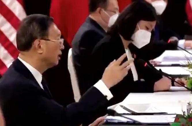 Kết thúc buổi họp đầu tiên Đối thoại Mỹ - Trung: Bắc Kinh phê Washington không biết cách tiếp khách ảnh 5