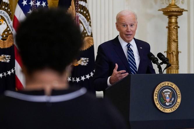 Tổng thống Joe Biden: Trong nhiệm kỳ sẽ không cho phép Trung Quốc vượt qua Mỹ! ảnh 4