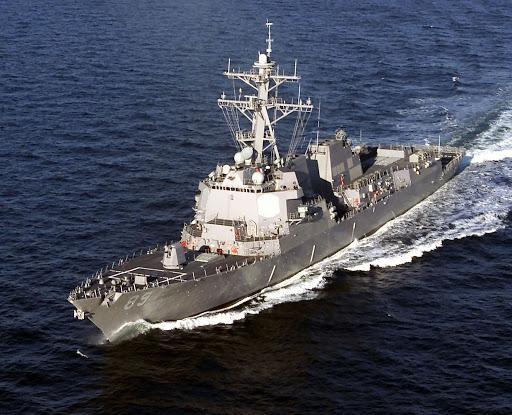 Xôn xao vụ tàu chiến Mỹ xuất hiện gần cửa sông Dương Tử, Thượng Hải ảnh 2
