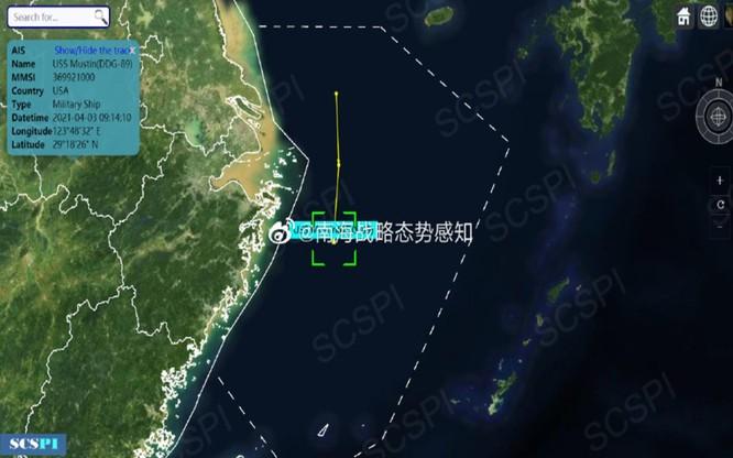 Xôn xao vụ tàu chiến Mỹ xuất hiện gần cửa sông Dương Tử, Thượng Hải ảnh 1