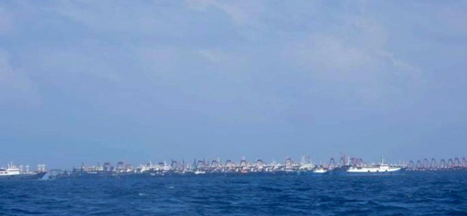 New York Times: Trung Quốc sử dụng số lượng lớn tàu dân quân nhằm kiểm soát Biển Đông ảnh 5