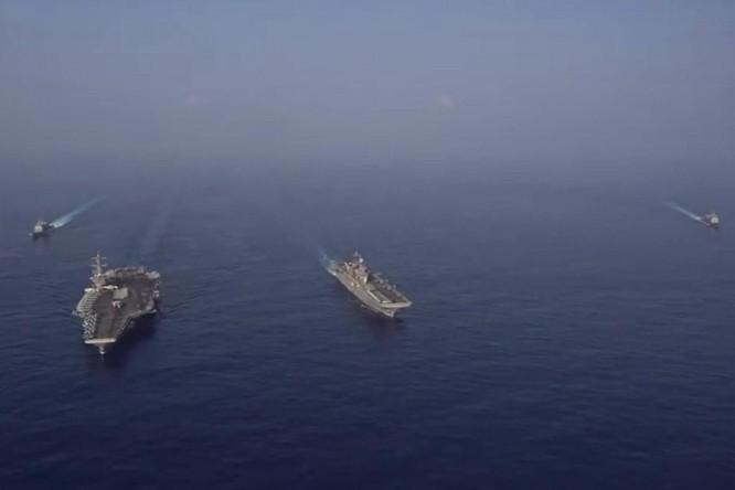 Biển Đông nổi sóng: các nhóm tác chiến tàu sân bay Mỹ - Trung cùng kéo vào tập trận ảnh 5