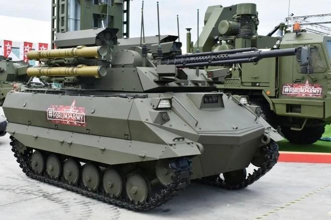 Quan hệ Ukraine – Nga căng thẳng, Nga triển khai robot chiến đấu tới biên giới chuẩn bị tham chiến ảnh 1