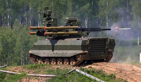 Quan hệ Ukraine – Nga căng thẳng, Nga triển khai robot chiến đấu tới biên giới chuẩn bị tham chiến ảnh 2