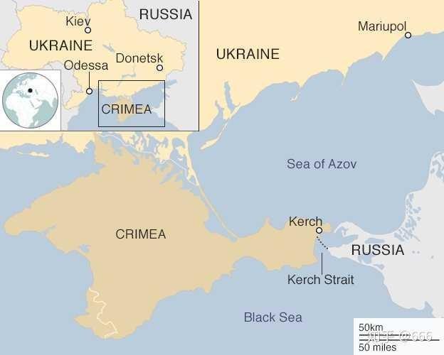 Nga đột ngột đóng cửa eo biển Kerch, tàu hải quân Ukraine không thể về cảng ảnh 1