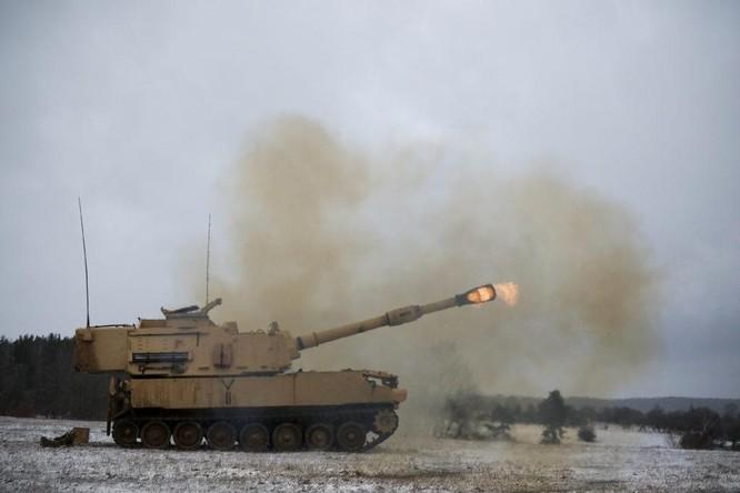 Bất chấp Trung Quốc phản đối, Mỹ sắp công bố đợt bán vũ khí mới pháo tự hành M-109A6 cho Đài Loan ảnh 1