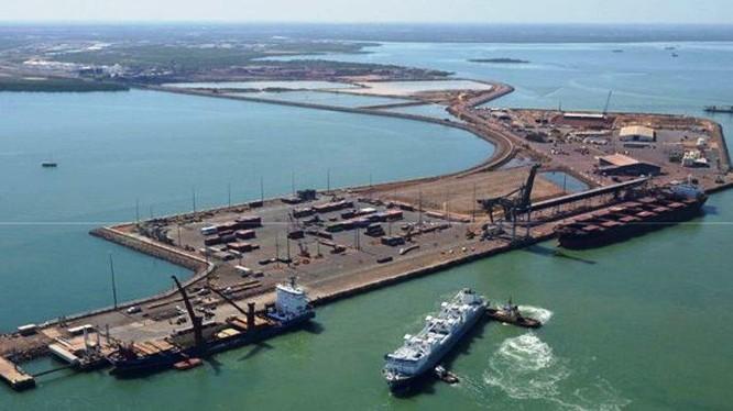 """Sau khi hủy thỏa thuận """"Vành đai, Con đường"""", Australia có thể không cho Trung Quốc thuê cảng Darwin ảnh 5"""