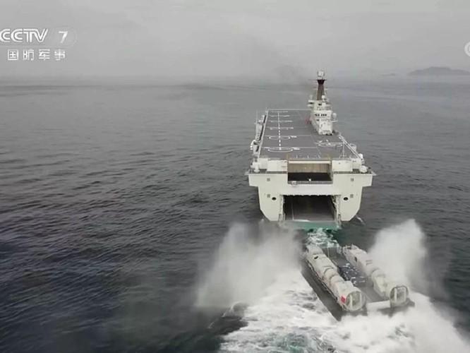 Khám phá tàu tấn công đổ bộ Hải Nam được truyền thông Trung Quốc hết lời ca ngợi ảnh 3
