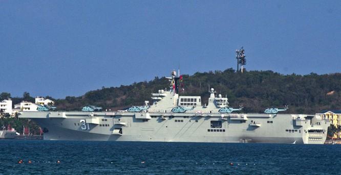 Khám phá tàu tấn công đổ bộ Hải Nam được truyền thông Trung Quốc hết lời ca ngợi ảnh 1