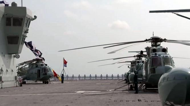 Khám phá tàu tấn công đổ bộ Hải Nam được truyền thông Trung Quốc hết lời ca ngợi ảnh 6