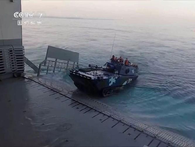 Khám phá tàu tấn công đổ bộ Hải Nam được truyền thông Trung Quốc hết lời ca ngợi ảnh 5