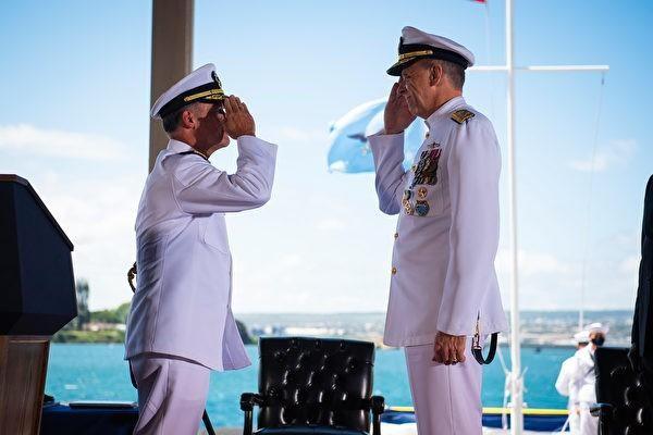 Mỹ mời Tư lệnh Hải quân Đài Loan dự lễ bàn giao chức Tư lệnh USINDOPACOM ảnh 1