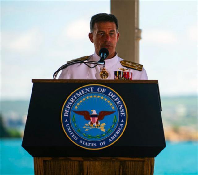 Mỹ mời Tư lệnh Hải quân Đài Loan dự lễ bàn giao chức Tư lệnh USINDOPACOM ảnh 2