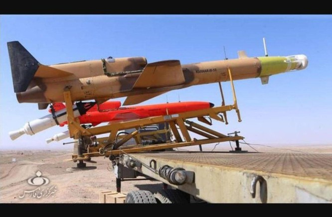Từ đoạn video gây rúng động, giải mã khả năng và sức mạnh của phi đội UAV của Iran ảnh 4