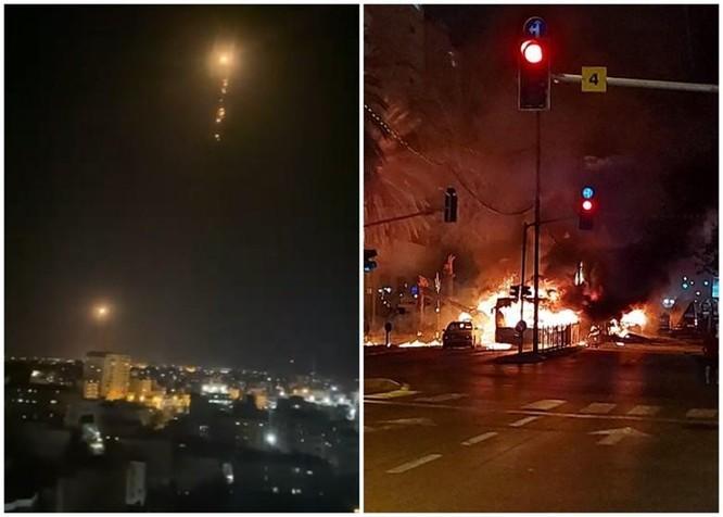 Bùng nổ xung đột dữ dội Israel - Palestine sau vụ đụng độ trong đền thờ Hồi giáo ở Jerusalem ảnh 5