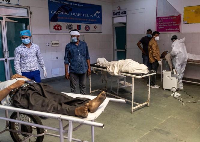 Thảm kịch ở Ấn Độ: người sống chờ giường bệnh, người chết đợi được thiêu ảnh 1