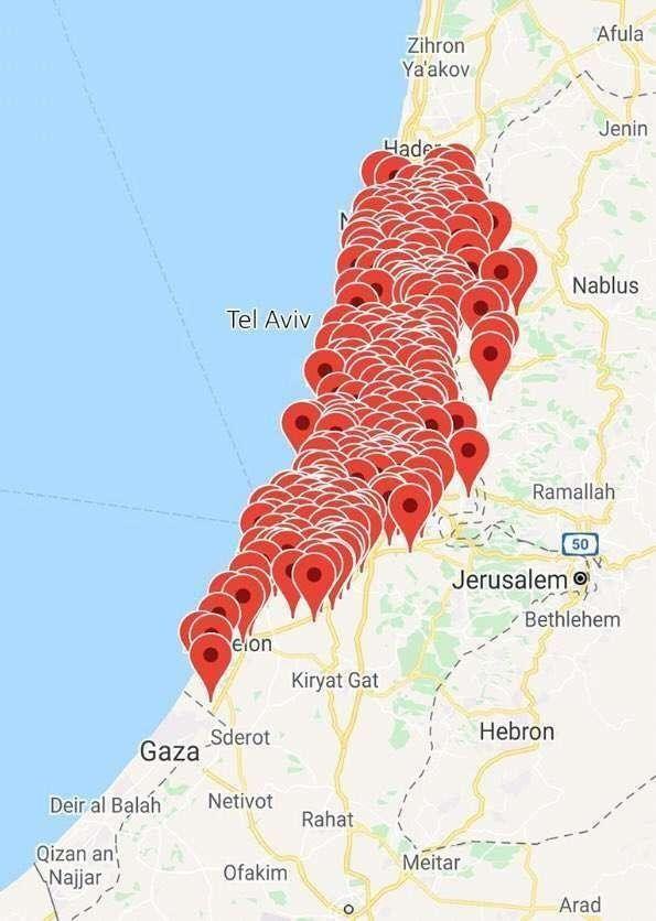 Bên nào thắng trong cuộc đấu ác liệt giữa tên lửa Hamas và hệ thống Vòm Sắt của Israel? ảnh 9