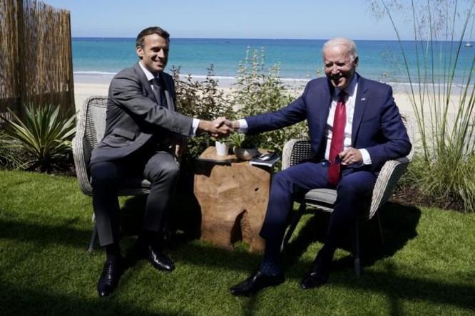 Sợ bị Bắc Kinh nghe trộm, phòng họp Hội nghị thượng đỉnh Nhóm G7 bàn về Trung Quốc phải ngắt mạng ảnh 1