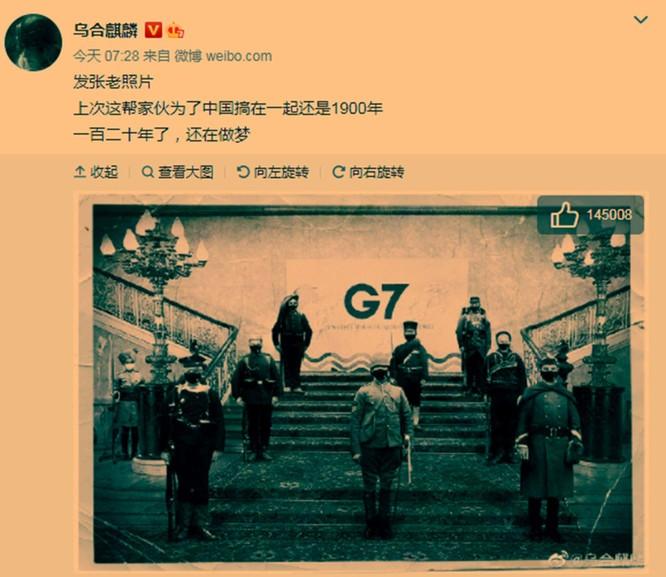 Hội nghị Thượng đỉnh G7 bế mạc với tuyên bố chỉ trích mạnh mẽ Trung Quốc, Bắc Kinh tức giận ảnh 7