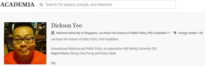 Singapore công khai vụ một học giả làm gián điệp cho Trung Quốc ảnh 3
