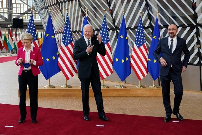 Tuyên bố chung Hội nghị thượng đỉnh Mỹ - Liên minh châu Âu chỉ trích dữ dội Trung Quốc ảnh 2