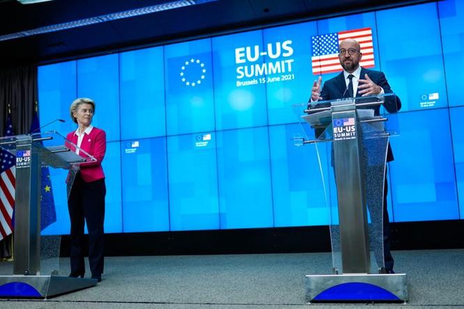 Tuyên bố chung Hội nghị thượng đỉnh Mỹ - Liên minh châu Âu chỉ trích dữ dội Trung Quốc ảnh 3