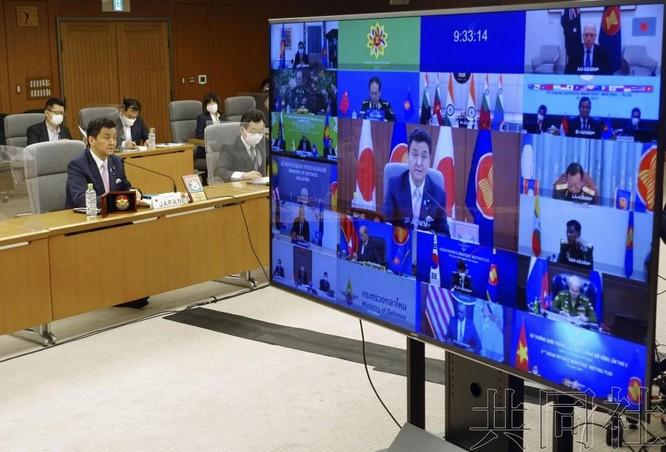 Truyền thông quốc tế: Mỹ, Nhật chỉ trích kịch liệt Trung Quốc tại Hội nghị Quốc phòng ASEAN mở rộng ảnh 3