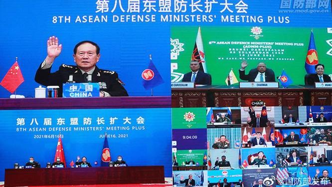 Truyền thông quốc tế: Mỹ, Nhật chỉ trích kịch liệt Trung Quốc tại Hội nghị Quốc phòng ASEAN mở rộng ảnh 2