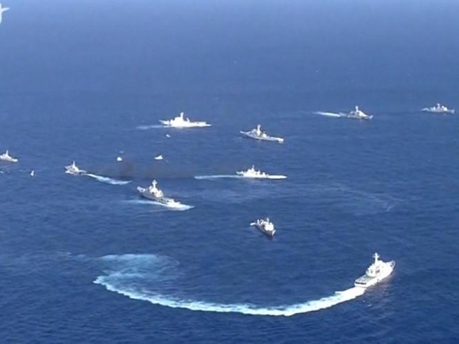 Truyền thông quốc tế: Mỹ, Nhật chỉ trích kịch liệt Trung Quốc tại Hội nghị Quốc phòng ASEAN mở rộng ảnh 5