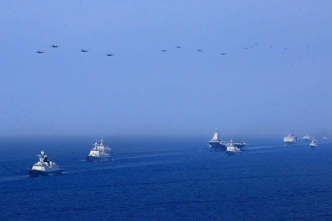 Truyền thông quốc tế: Mỹ, Nhật chỉ trích kịch liệt Trung Quốc tại Hội nghị Quốc phòng ASEAN mở rộng ảnh 6