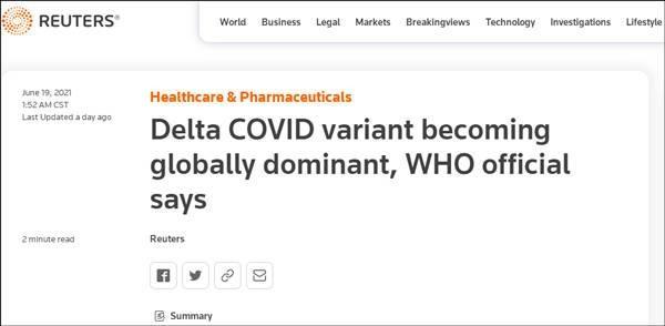 WHO cảnh báo: biến chủng Delta nguy hiểm đang trở thành virus chính gây COVID-19 trên toàn cầu ảnh 4