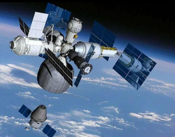 Mỹ, Nga, Trung Quốc gia tăng cuộc đọ sức trong không gian ảnh 2