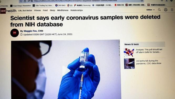 Truyền thông Mỹ: Trung Quốc từng yêu cầu xóa bỏ dữ liệu giải trình tự gene SARS-CoV-2 thời kỳ đầu ảnh 2