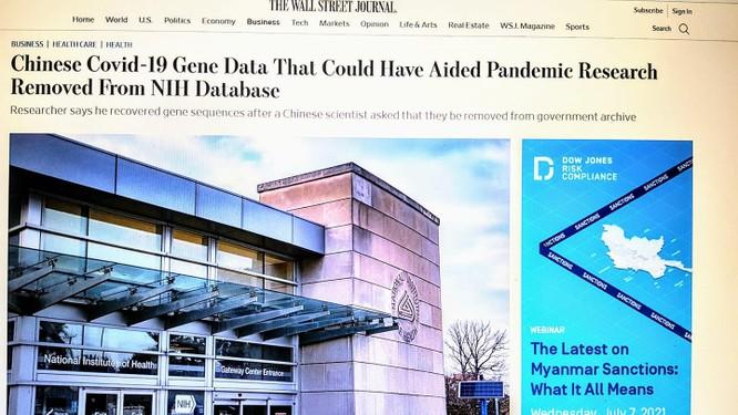 Truyền thông Mỹ: Trung Quốc từng yêu cầu xóa bỏ dữ liệu giải trình tự gene SARS-CoV-2 thời kỳ đầu ảnh 1