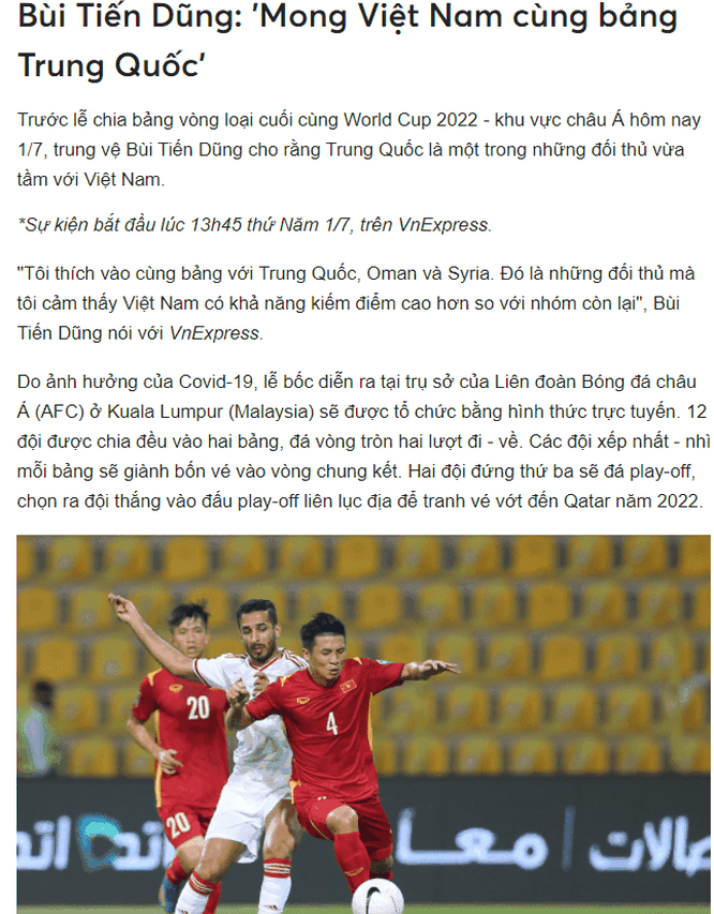 Lá thăm đưa đội tuyển Trung Quốc cùng bảng B với Việt Nam, người mê bóng đá Trung Quốc nói gì? ảnh 2