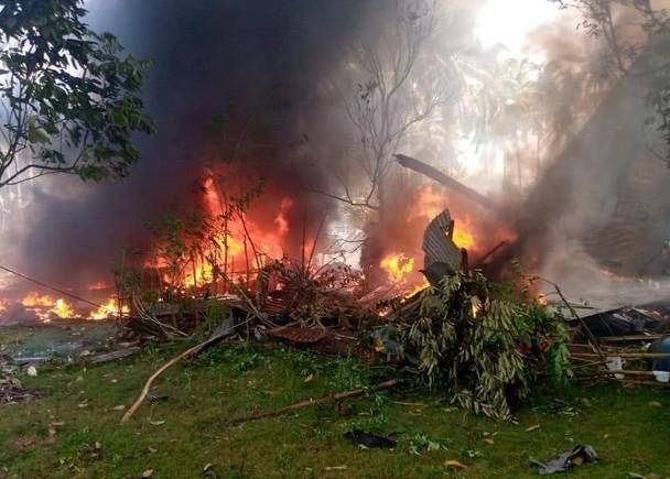 Những diễn biến mới quanh vụ tai nạn máy bay quân sự thảm khốc nhất trong 30 năm qua ở Philippines ảnh 1