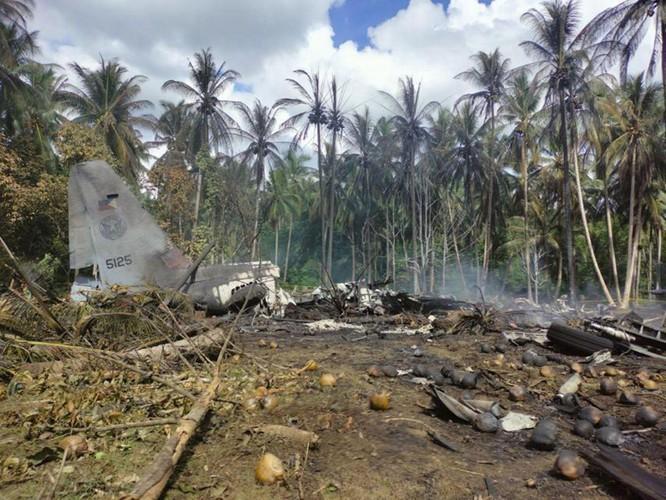Những diễn biến mới quanh vụ tai nạn máy bay quân sự thảm khốc nhất trong 30 năm qua ở Philippines ảnh 2