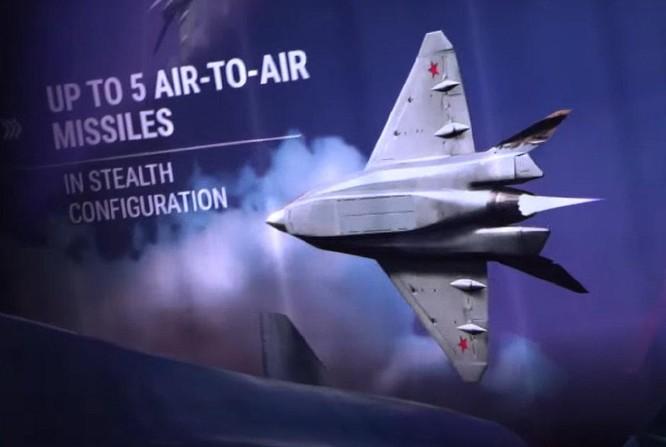 """Chùm ảnh mới được công bố về máy bay chiến đấu tàng hình bí ẩn """"Chiếu tướng"""" của Nga ảnh 10"""