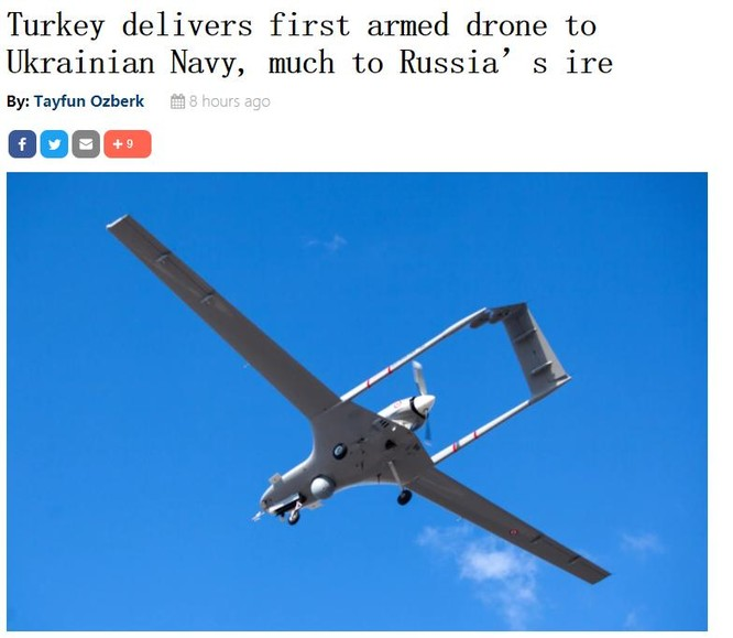 Thổ Nhĩ Kỳ cung cấp máy bay không người lái tấn công cho Ukraine khiến Nga tức giận ảnh 1