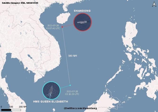 Tàu sân bay Anh Queen Elizabeth tới Biển Đông, Trung Quốc lớn tiếng đe dọa bắt chước Nga tấn công ảnh 2
