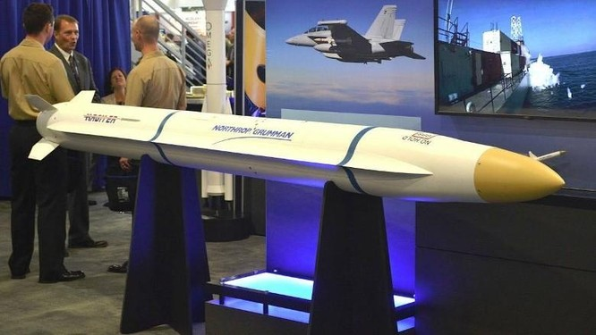 Mỹ thử thành công tên lửa chống bức xạ tầm xa nhằm đột phá hệ thống phòng không Trung Quốc ảnh 1