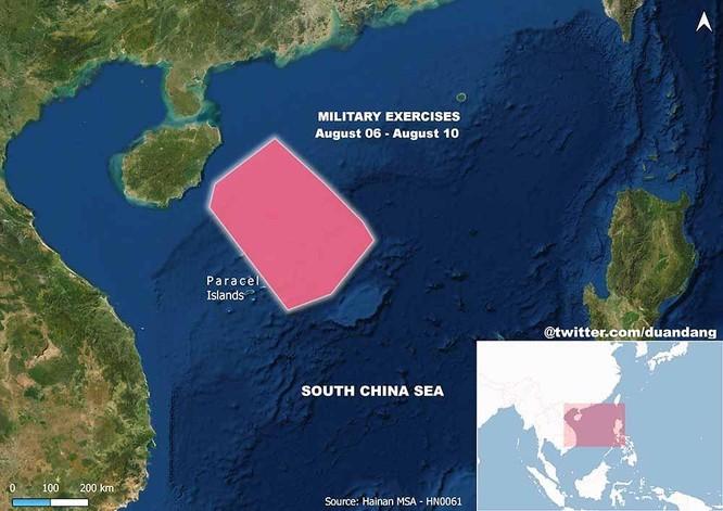 Đáp lại tập trận lớn của Mỹ, Trung Quốc tập trận với phạm vi rộng chưa từng có trên Biển Đông ảnh 2