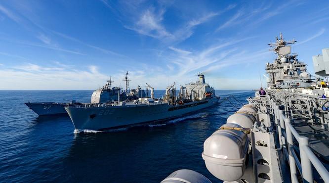 Đáp lại tập trận lớn của Mỹ, Trung Quốc tập trận với phạm vi rộng chưa từng có trên Biển Đông ảnh 1