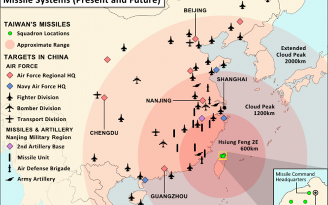 Mối đe dọa của tên lửa Đài Loan, Mỹ với Trung Quốc và ý kiến chuyên gia quân sự đại lục ảnh 4