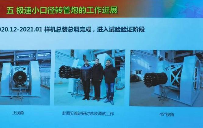 Trung Quốc khoe thử thành công pháo bắn nhanh 20 nòng có thể đánh chặn mọi tên lửa, kể cả siêu âm ảnh 1