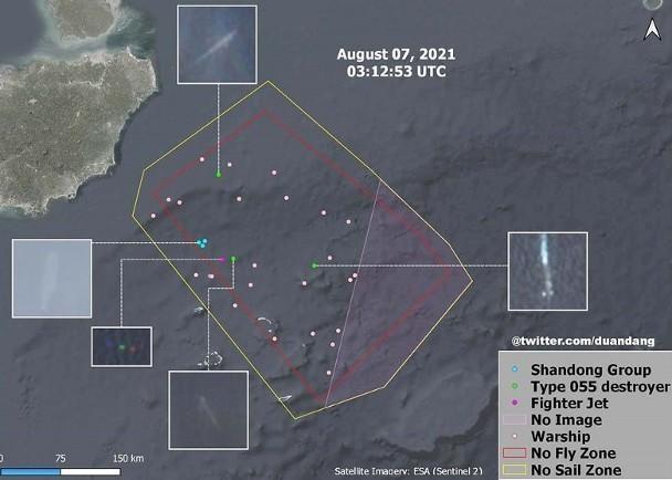 Trung Quốc tập trận quy mô lớn chưa từng có trên Biển Đông, có thể phóng thử tên lửa tầm trung ảnh 1