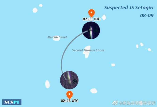 Tàu khu trục tên lửa Nhật thực hiện tự do hàng hải ở vùng biển Trường Sa, Trung Quốc phản đối ảnh 1