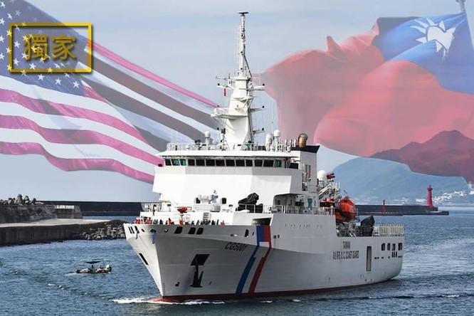 Tàu tuần duyên Mỹ và Đài Loan lần đầu tiên tập trận chung, Trung Quốc phản ứng gay gắt ảnh 6