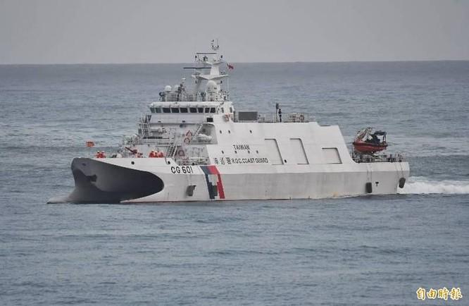 Tàu tuần duyên Mỹ và Đài Loan lần đầu tiên tập trận chung, Trung Quốc phản ứng gay gắt ảnh 3