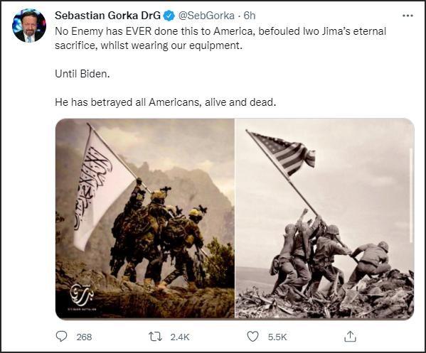 Bức ảnh tuyên truyền của Taliban khiến người Mỹ nổi giận ảnh 3
